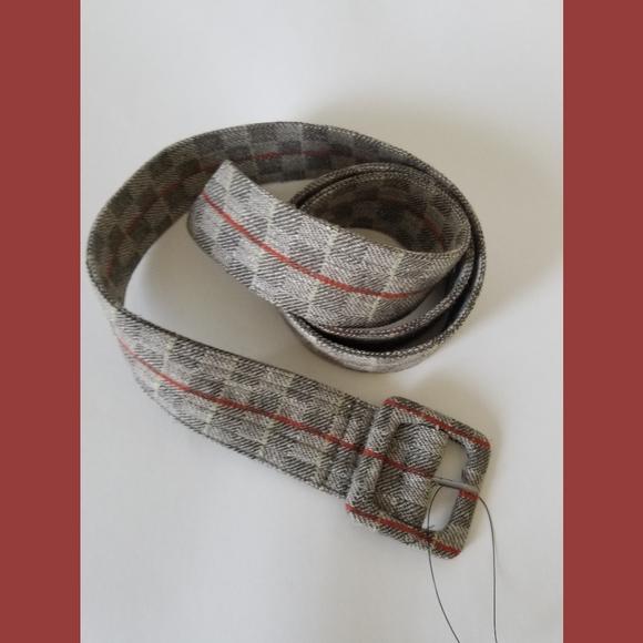 Free People NWOT Wool Blend Belt